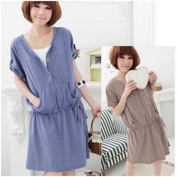 Váy cotton bầu năng động HC 947