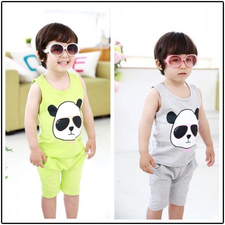 Bộ quần áo Panda TD-003 xinh xắn cho bé