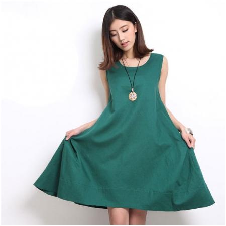 Đầm bầu dáng suông 1437