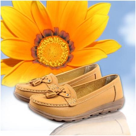 Giày da nữ Income 1222