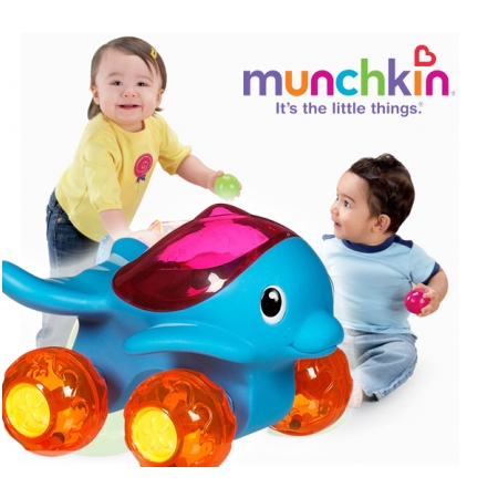 Đồ chơi ô tô cá heo Munchkin 11201