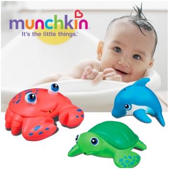 Bộ đồ chơi 5 sinh vật biển phun nước Munchkin 31205