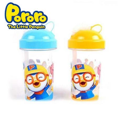 Bình uống nước Pororo FS3829 có ống hút