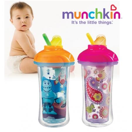 Cốc ống hút giữ nhiệt Munchkin Click and lock (MK15408)
