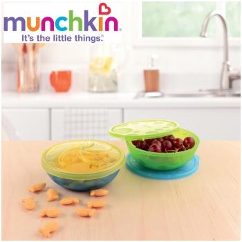 Bộ 4 bát ăn đa dụng Munchkin cho bé - 11348