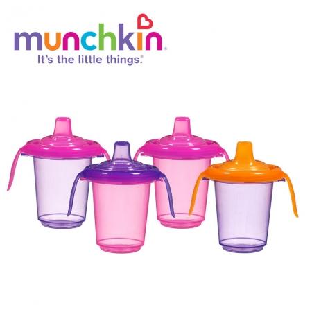 Bộ 4 cốc tập uống chống đổ Munchkin MK-15523