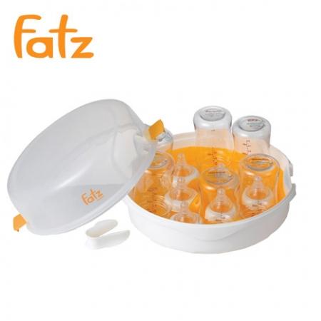 Dụng cụ tiệt trùng bình sữa trong lò vi sóng Fatzbaby FB4001SB