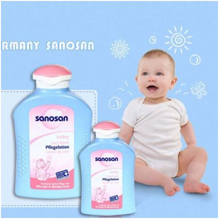 Sữa dưỡng da Sanosan Baby 200ml M1243