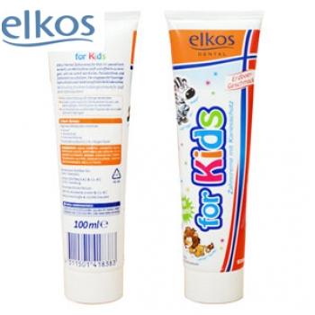 Kem đánh răng dành cho trẻ em ELKOS 100ml S1571