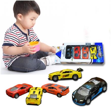 Bộ 4 ôtô đồ chơi dành cho bé M1577