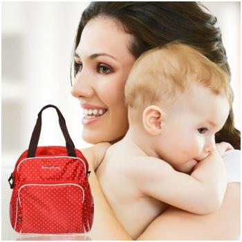 Túi ba lô 3in1 BabyMamy cao cấp cho mẹ & bé 8307
