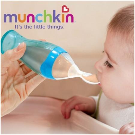Bình thìa Munchkin 4 Ounce Easy Squeezy Spoon - 42405