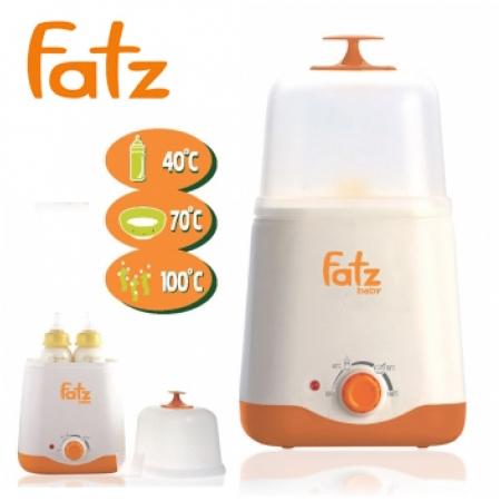 Máy hâm sữa tiệt trùng đa năng 2 bình Fatz FB3011SL
