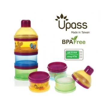 Hộp chia sữa Upass 3 ngăn UP8011C