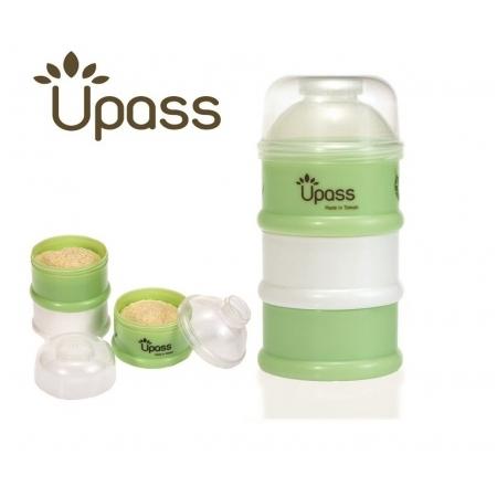 Hộp chia sữa 3 ngăn Upass UP8002C