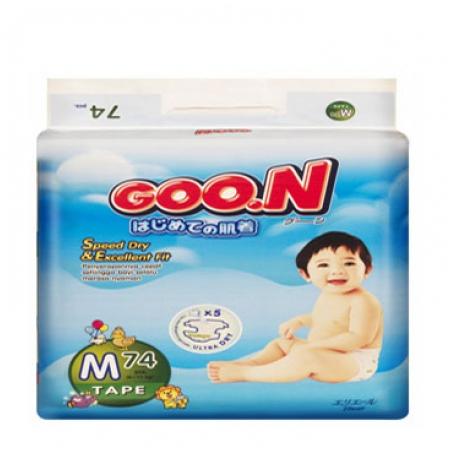 Bỉm Goon Slim M74 (6-11kg)