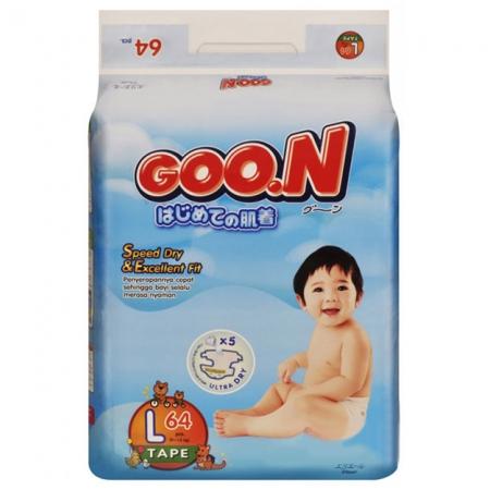 Bỉm Goon Slim L64 (9-14kg)
