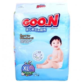 Bỉm Goon Slim XL58 (12-20kg)