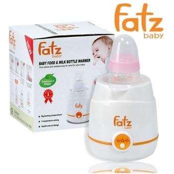 Máy hâm sữa và thức ăn 3 cấp độ Fatzbaby FB3001WB