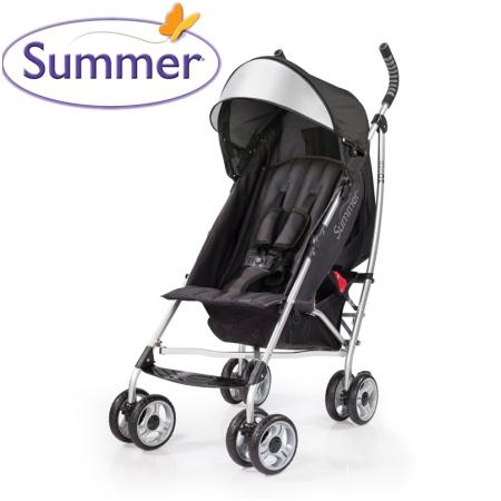 Xe đẩy siêu nhẹ Summer 3D 21310 (đen)