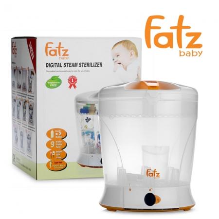 Máy tiệt trùng bình sữa bằng hơi Fatzbaby FB4006SB