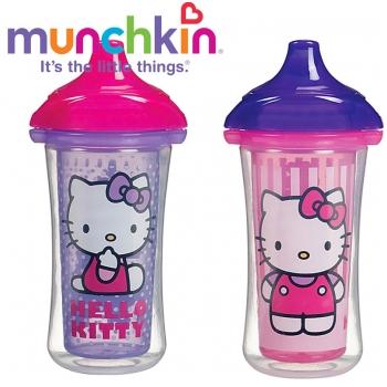 Bộ 2 cốc tập uống giữ nhiệt chống đổ Munchkin 15283