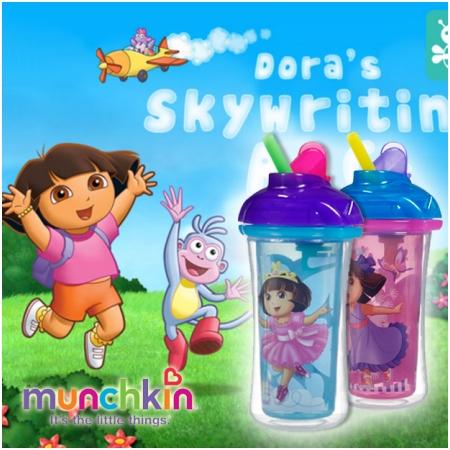 Cốc Ống hút giữ nhiệt Dora Munchkin 15468
