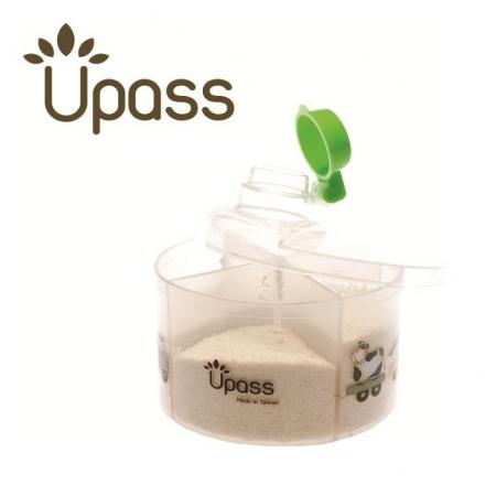 Hộp chia sữa tròn không BPA Upass 8005C