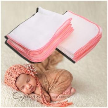 Combo 20 khăn sữa 4 lớp cao cấp cho bé (30x35cm) M1452