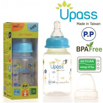 Bình sữa Upass chống sặc 120ml UP06401CX/CL