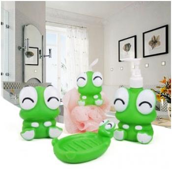 Bộ 4 phụ kiện phòng tắm hình thú xinh xắn