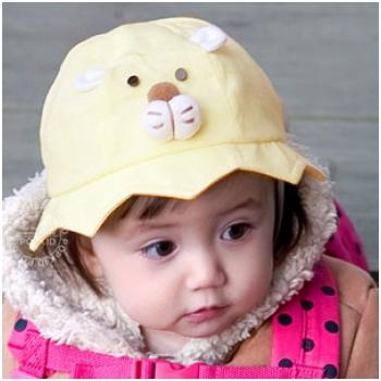 Mũ hình mặt gấu xinh xắn cho bé M839