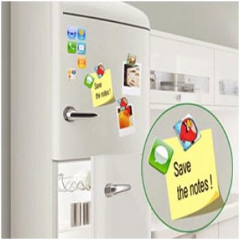 Combo 18 miếng nam châm trang trí tủ lạnh H2373