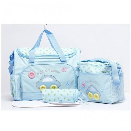 Bộ túi Diaper Bags 3in1 cho mẹ & bé
