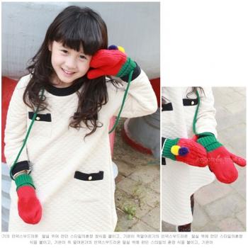 Găng tay len BIKA xinh xắn cho bé M2003