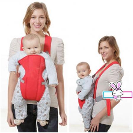 Địu em bé 4 tư thế tiện dụng an toàn cho bé