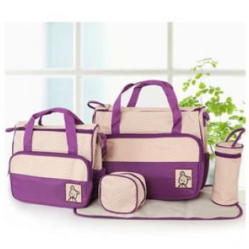 Bộ túi cao cấp 5 trong 1 cho mẹ & bé