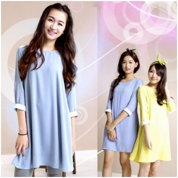 Váy bầu voan thanh lịch HC 1302