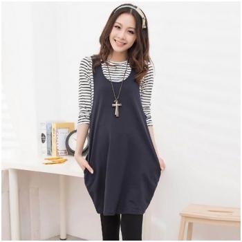 Set áo - váy yếm bầu thời trang HC1520