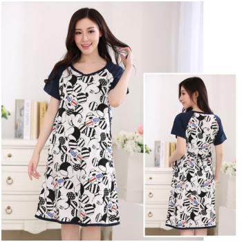 Váy bầu kết hợp cho con bú Mickey MB55-4
