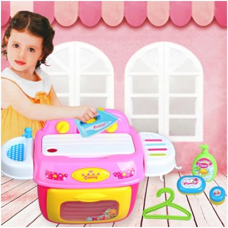 Bộ đồ chơi máy giặt và bàn là cho bé 008-92A