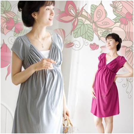 Váy thun bầu thời trang HC 653