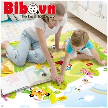 Thảm Bibo 2 mặt cao cấp cho bé H6303 (1.8x2m)