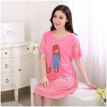 Váy bầu kết hợp cho con bú Little Girl MB1525