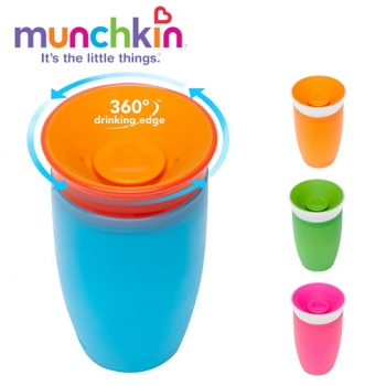 Cốc tập uống Munchkin Miracle 10oz MK44142  (1yr+)