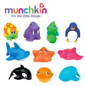Đồ chơi tắm – 10 sinh vật biển Munchkin MK18004