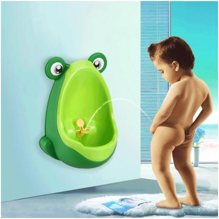 Bệ tiểu mini hình chú ếch cho bé trai HD95