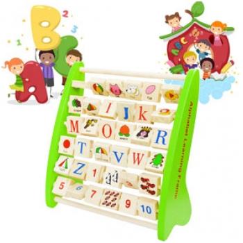 Bảng chữ cái tiếng Anh – đồ chơi gỗ phát triển trí tuệ G792