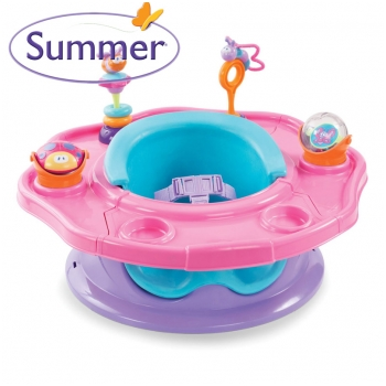 Ghế tập ngồi 3 giai đoạn Summer Infant Toddler 3 Stage Super Seat 13350