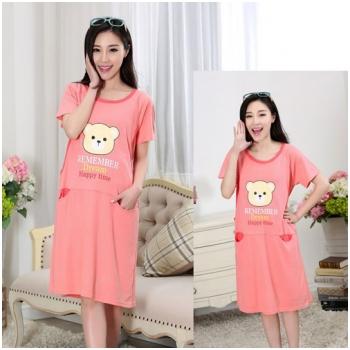 Váy bầu kết hợp cho con bú Kitty MB201
